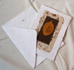 přání s listem a obálkou