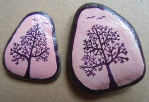 stromy fialové